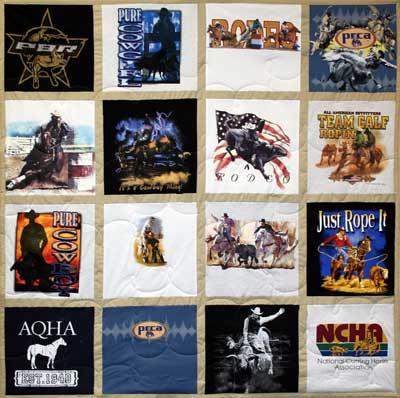 Rodeo T-shirt Quilt