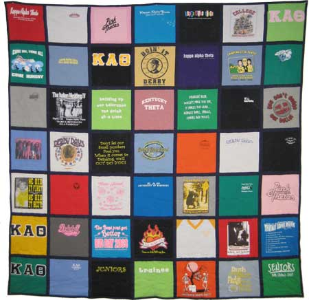 King Side T-shirt Quilt